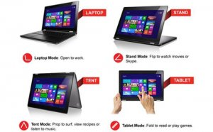 Позы для Lenovo Ideapad Yoga